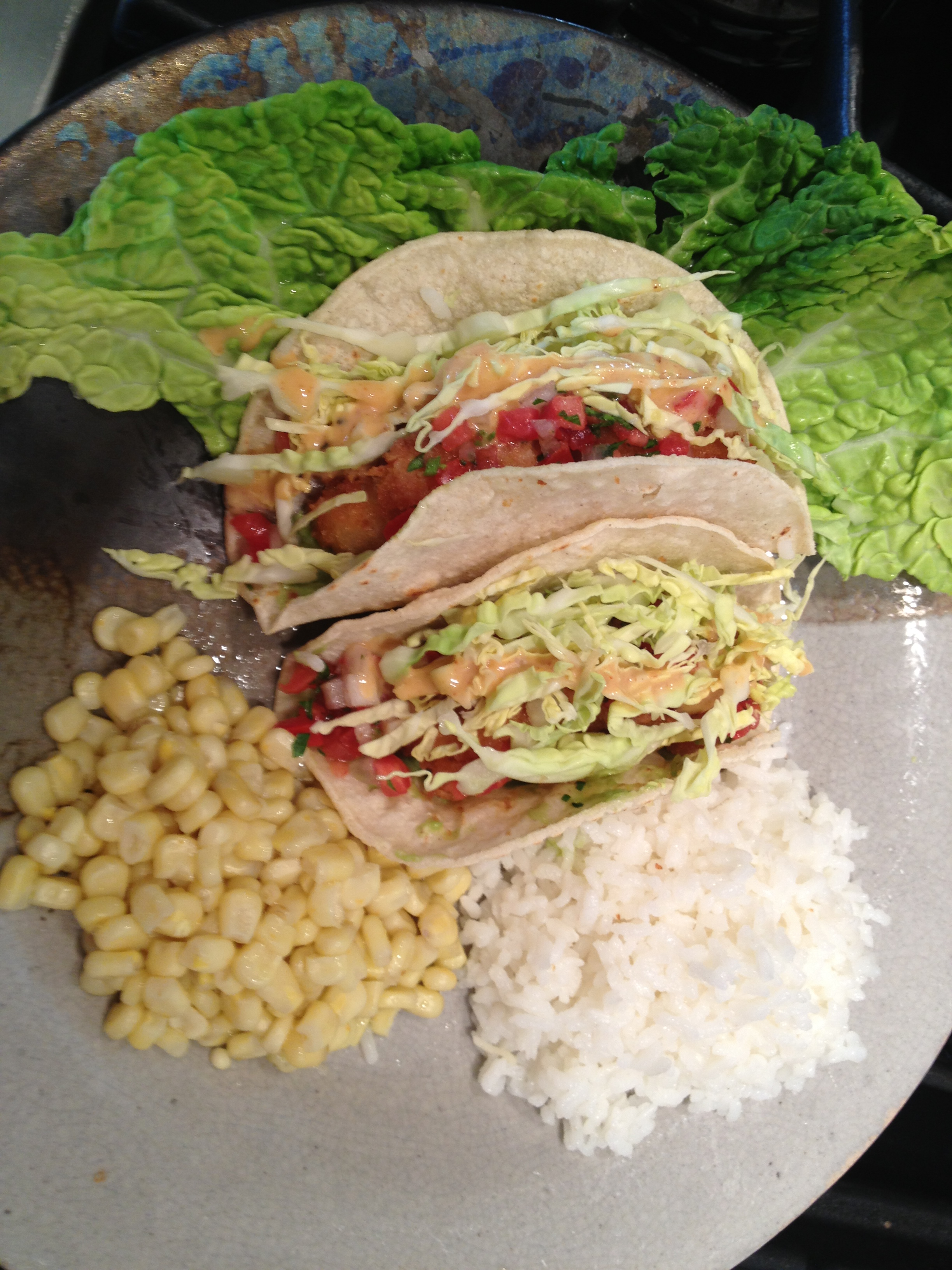 Fish tacos sparkle sisters secrets for Side dishes for fish tacos