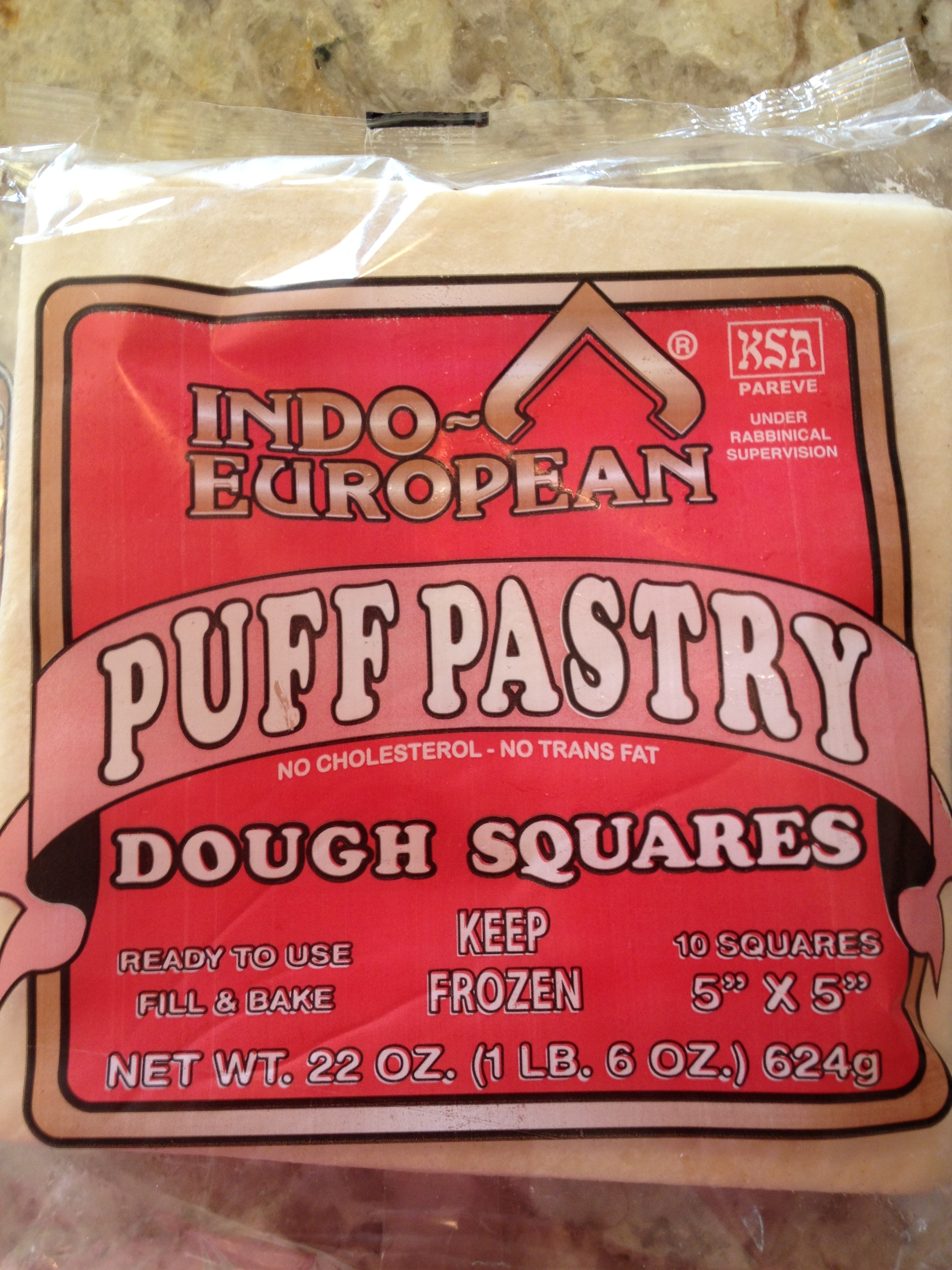 Puff Pastry Square from Indian Grocer